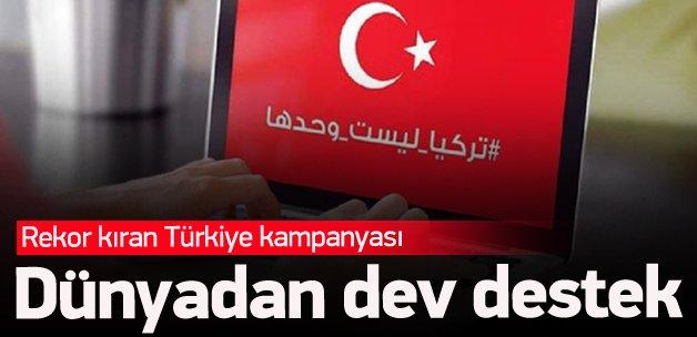 Arapça 'Türkiye' etiketine büyük destek