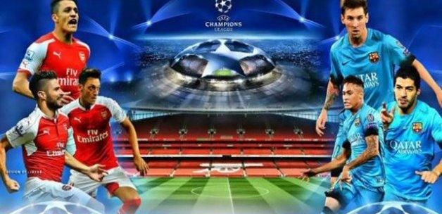 Arsenal Barcelona maçı saat kaçta, ne zaman şifresiz hangi kanalda