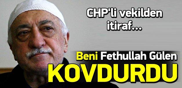 Balbay: Beni Fethullah Gülen kovdurdu