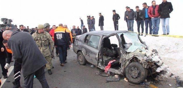 Bitlis'te korkunç kaza: 3 ölü, 1 yaralı!