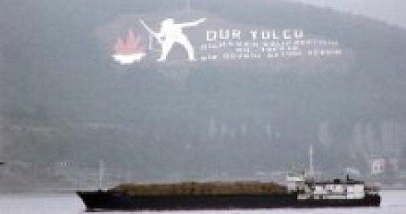 Boğaz'dan Rus askeri kargo gemisi geçti