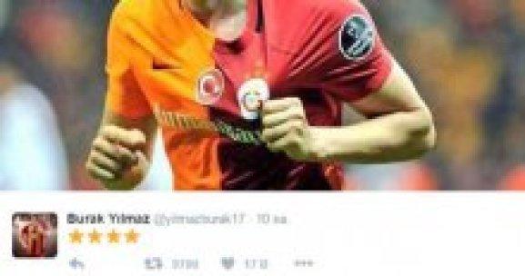 Burak Yılmaz'dan Galatasaray paylaşımı