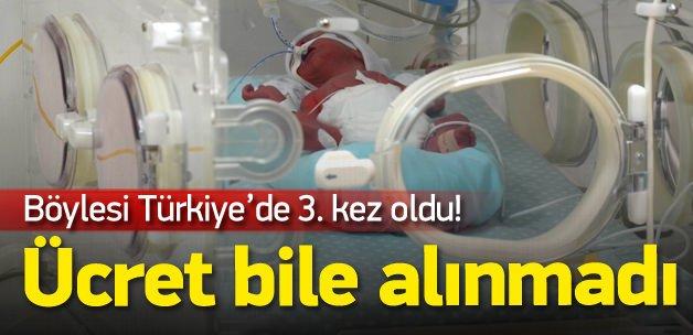 Bursa'da beşiz bebekler dünyaya geldi