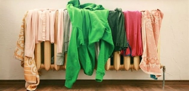 Çamaşırları sakın evde kurutmayın!