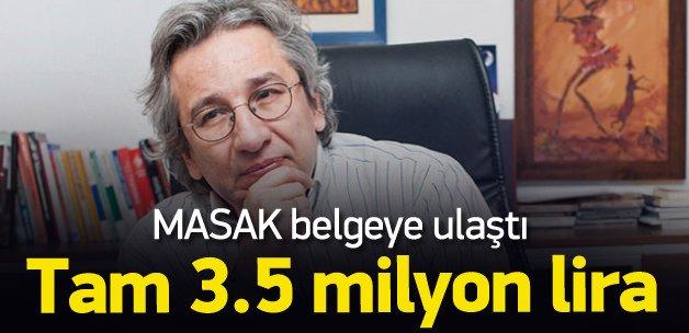 Can Dündar'a 3.5 milyon TL elden verildi
