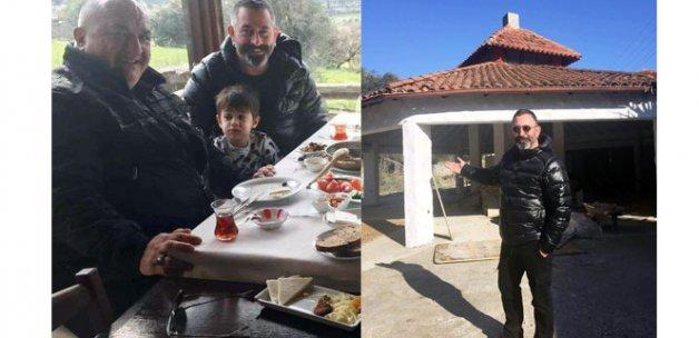 Cem Yılmaz oğlu Kemal'le Bodrum'da