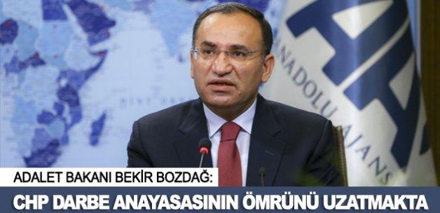 """""""CHP darbe anayasasının ömrünü uzatmaktadır"""""""