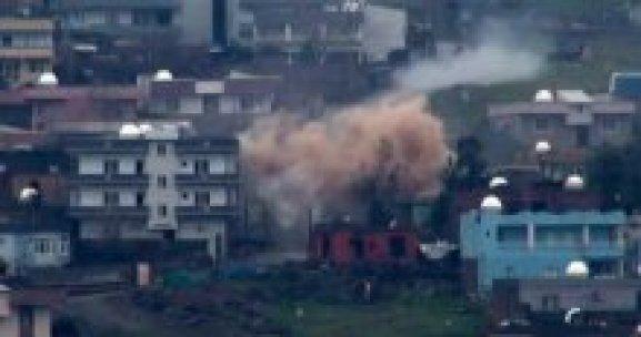 Cizre'de çatışmalar sürüyor