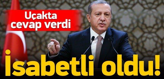 Cumhurbaşkanı Erdoğan: Konuşmam isabetli oldu