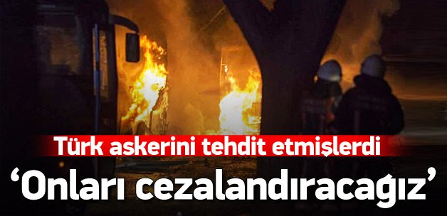 DAEŞ Türk askerini tehdit etmişti