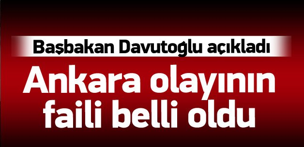 Davutoğlu Ankara saldırısıyla ilgili konuşuyor
