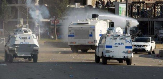 Demirtaş'ın mitinginin ardından olaylar çıktı, 5 gözaltı