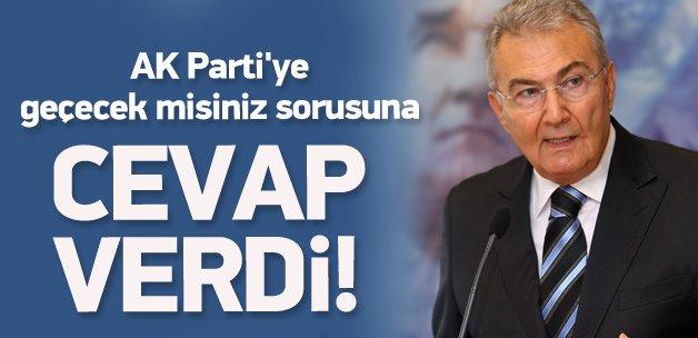 Deniz Baykal'a AK Parti'ye geçecek misiniz sorusu