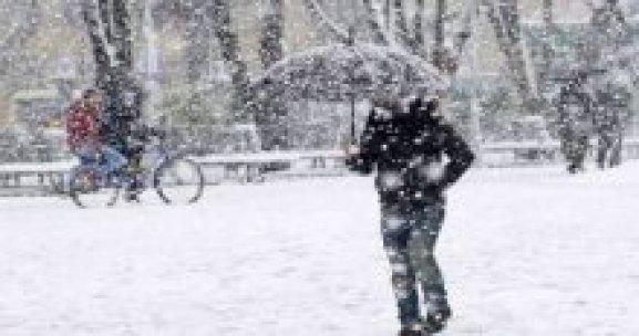 Dikkat! Bu iller için kar uyarısı geldi