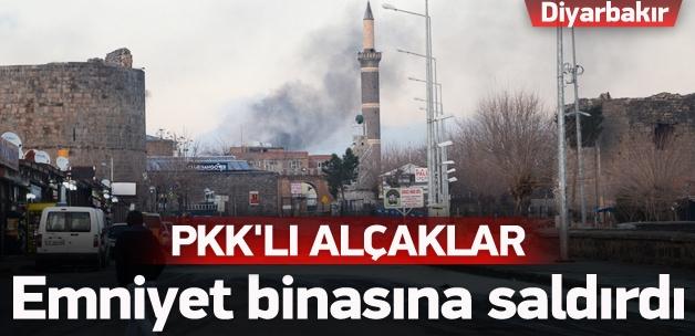 Diyarbakır'da emniyet binasına saldırı