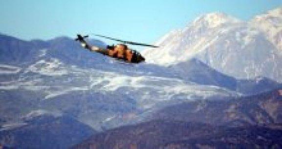 Diyarbakır'da helikopterler art arda havalandı
