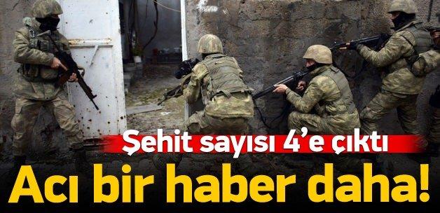 Diyarbakır'dan acı haber: 4 şehit