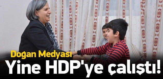 Doğan medyası yine HDP'ye çalıştı!