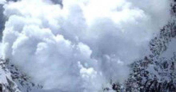 Elazığ'da çığ faciası, 3 ölü