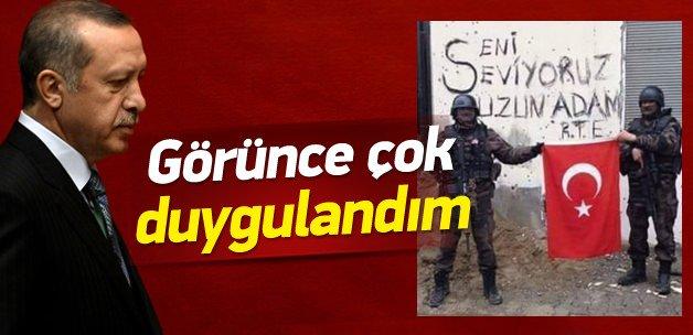 Erdoğan'ın 'Çok duygulandığım' dediği fotoğraf
