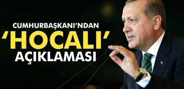 Erdoğan'dan 'Hocalı' açıklaması