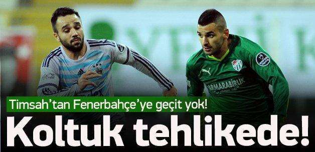 Fenerbahçe Bursa'da yara aldı