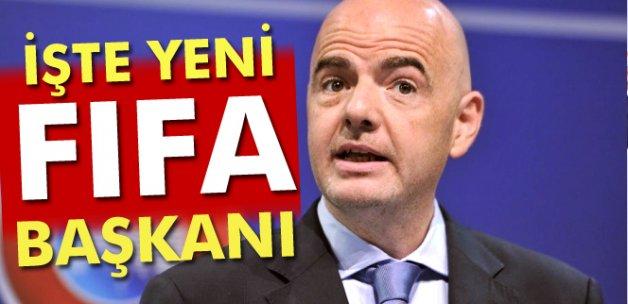 FIFA Başkanı Gianni Infantino oldu!