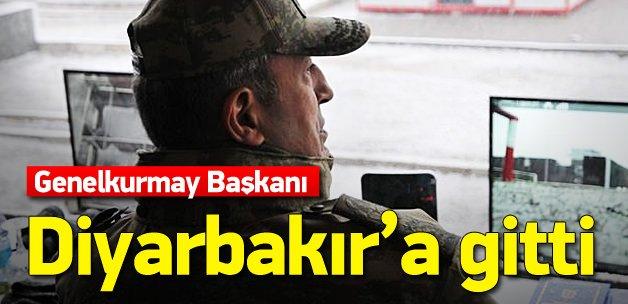 Genelkurmay Başkanı Akar Diyarbakır'a gitti