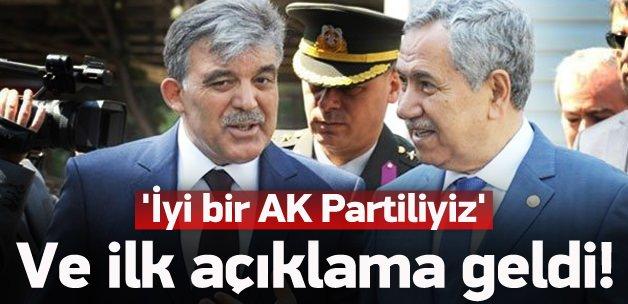 Görüşme sonrası açıklama: İyi bir AK Partiliyiz