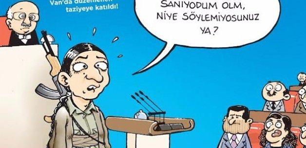 Hacamat'tan HDP'yi çıldırtacak kapak!