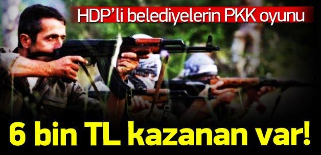 HDP'li belediyelerin PKK oyunu!