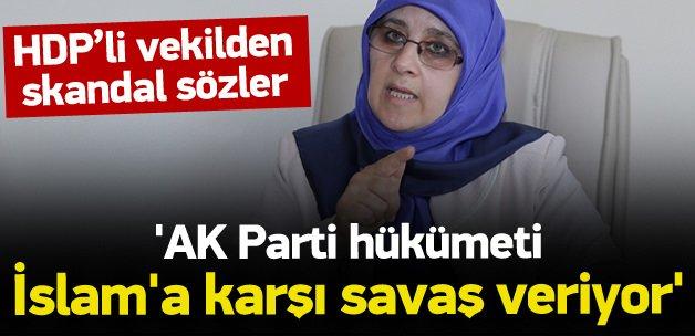 HDP'li vekilden hükümete skandal suçlama!