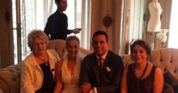 Helin Avşar evlendi