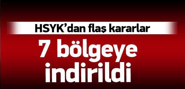 HSYK'dan flaş kararlar