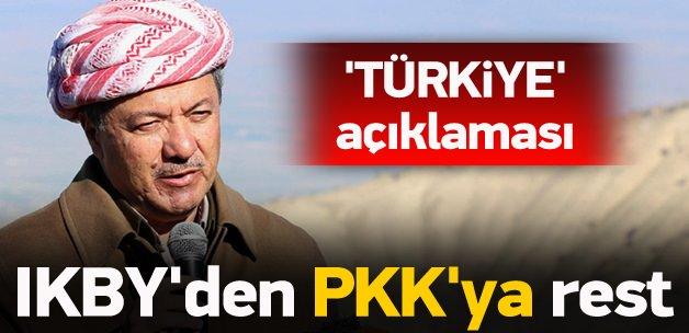 IKBY'den PKK'ya rest! 'Türkiye' açıklaması