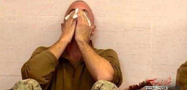 İran ağlayan ABD askerini yayınladı!