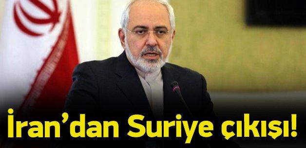 İran'dan Suriye çıkışı