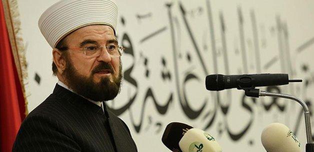 'İslam coğrafyası mutlaka huzura kavuşacaktır'