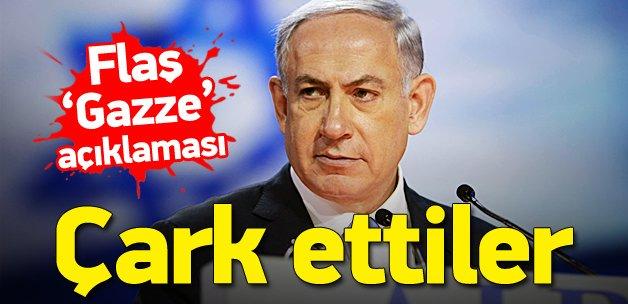 İsrail işine gelince Gazze'yi gördü