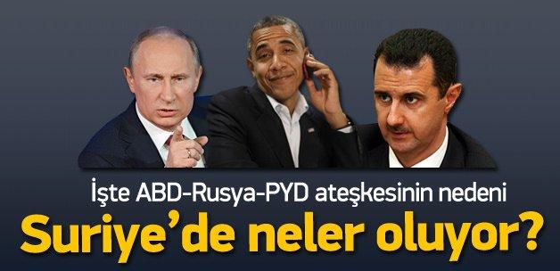 İşte PYD-ABD-Rus ittifakının asıl amacı