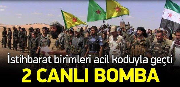 İstihbarat uyardı: Kobani'den 2 canlı bomba geldi