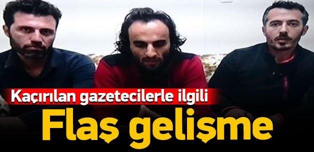 Kaçırılan AA muhabiri 3 kişi serbest bırakıldı