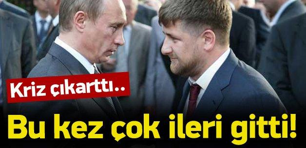 Kadirov bu kez çok ileri gitti! Kriz çıktı