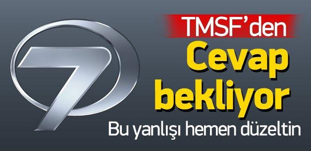 Kanal7, TMSF'den cevap bekliyor!