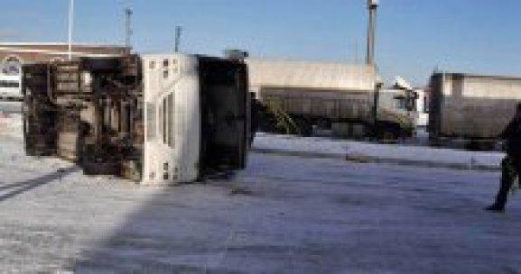 Konya'da trafik kazası, 26 yaralı