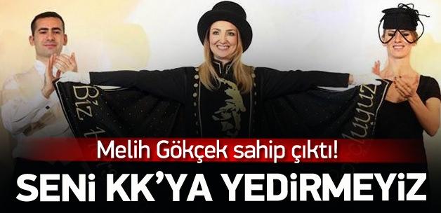 Melih Gökçek Aylin Nazlıaka'yı ti'ye aldı