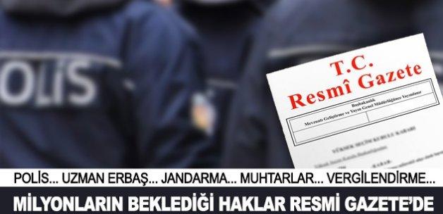 Memur ve işçilere yeni haklar Resmi Gazete'de