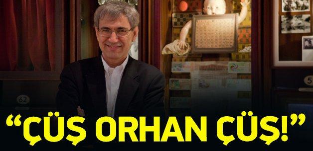 Murat Bardakçı'dan Orhan Pamuk'a: Çüş Orhan çüş