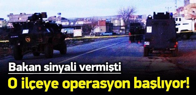 Nusaybin'e operasyon başlıyor