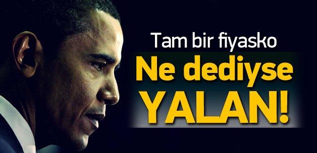 Obama'nın Suriye yalanları